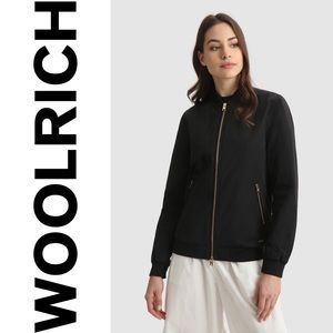 WOOLRICH black bomber jacket